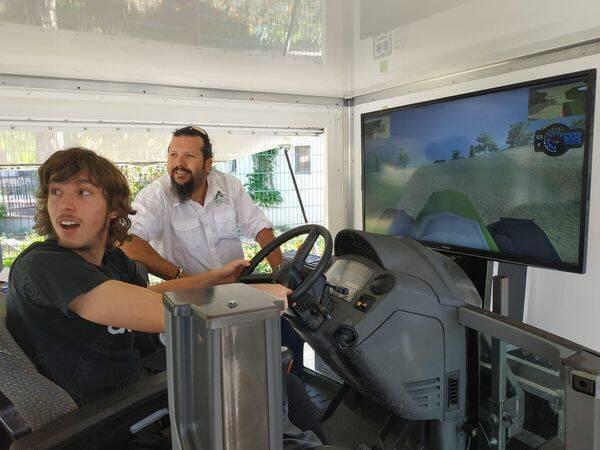 Top pulv simulateur de conduite pour tracteur for Simulateur de chambre